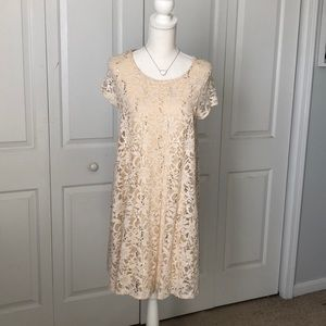 Sparkly Altar'd State Swing Dress